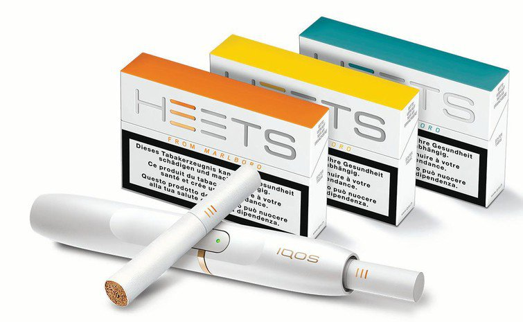 IQOS Philip Morris a HEETS cigarety