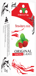E-liquid Dekang Strawberry mint (jahoda s mátou)