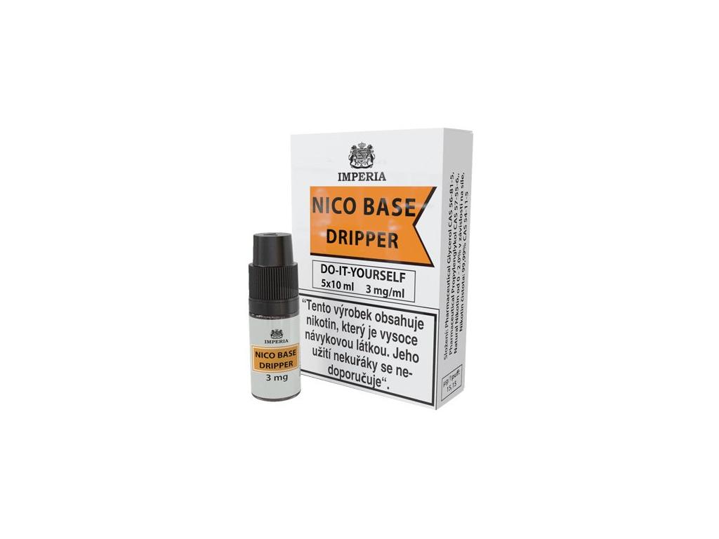nikotinova baze imperia dripper 5x10ml pg30vg70 3mg