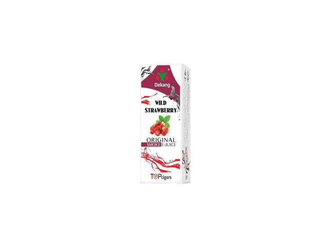 E liquid Dekang Wild strawberry (lesní jahoda)