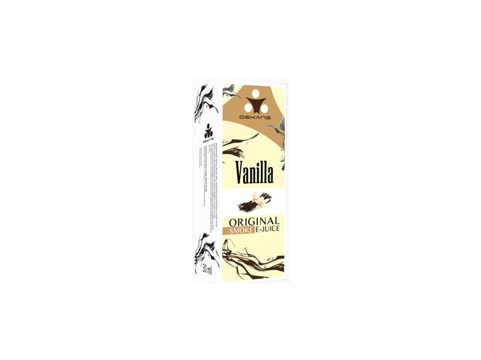 E liquid Dekang Vanilla (Vanilka) 0