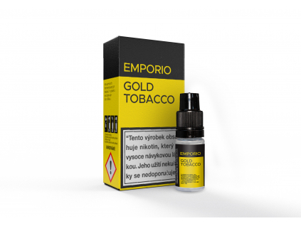 liquid emporio gold tobacco 10ml 12mg