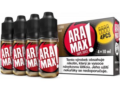liquid aramax 4pack coffee max 4x10ml3mg