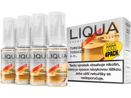 liquid liqua cz elements 4pack turkish tobacco 4x10ml12mg turecky tabak