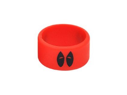 Kroužek silikonový na Clearomizer Dajt půl Red
